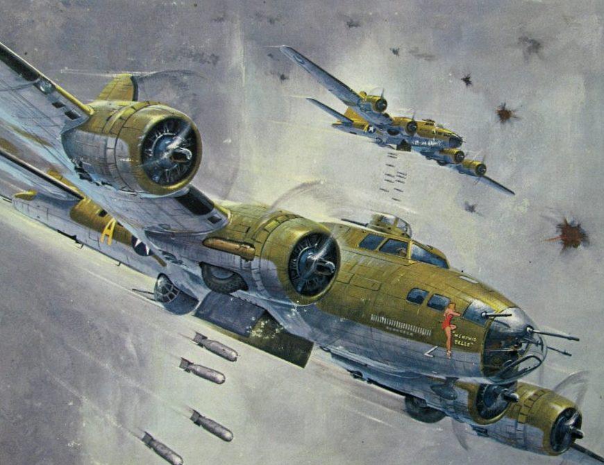 Leynnwood Jack. Бомбардировщик B-17F.