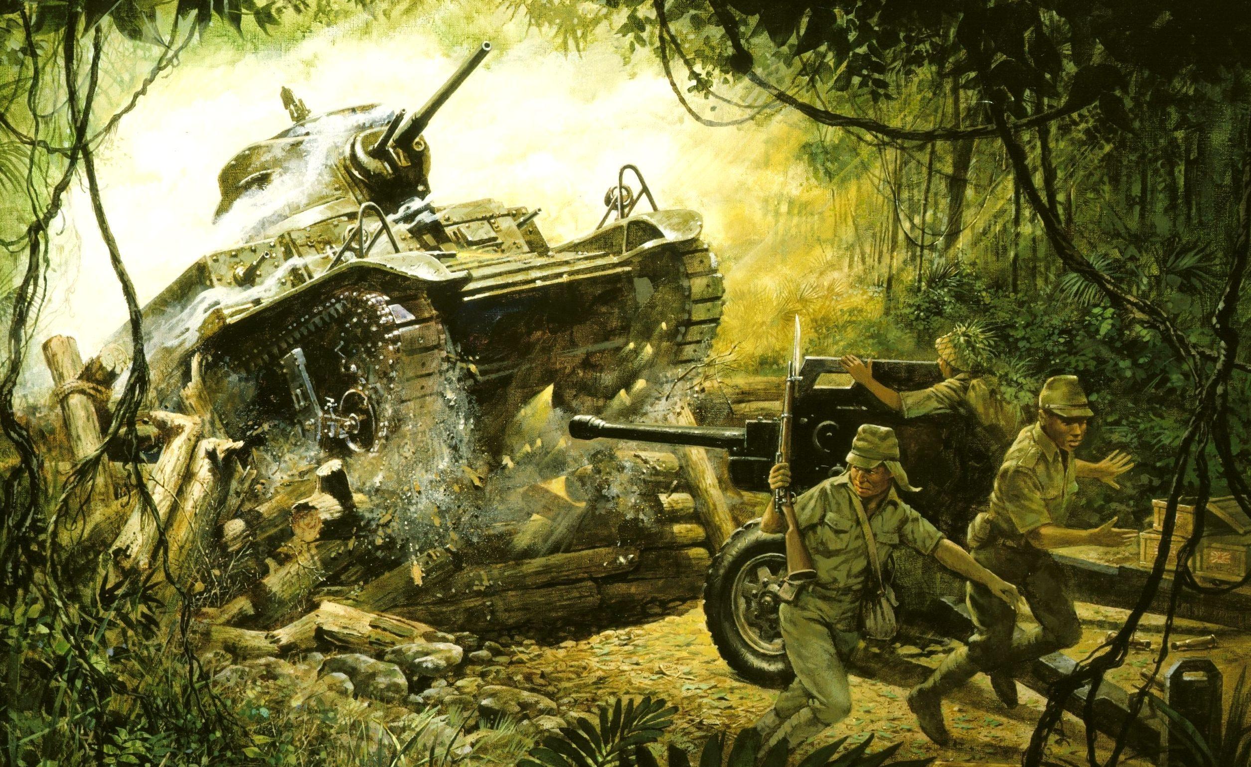 Millsap Don. Атака танка.