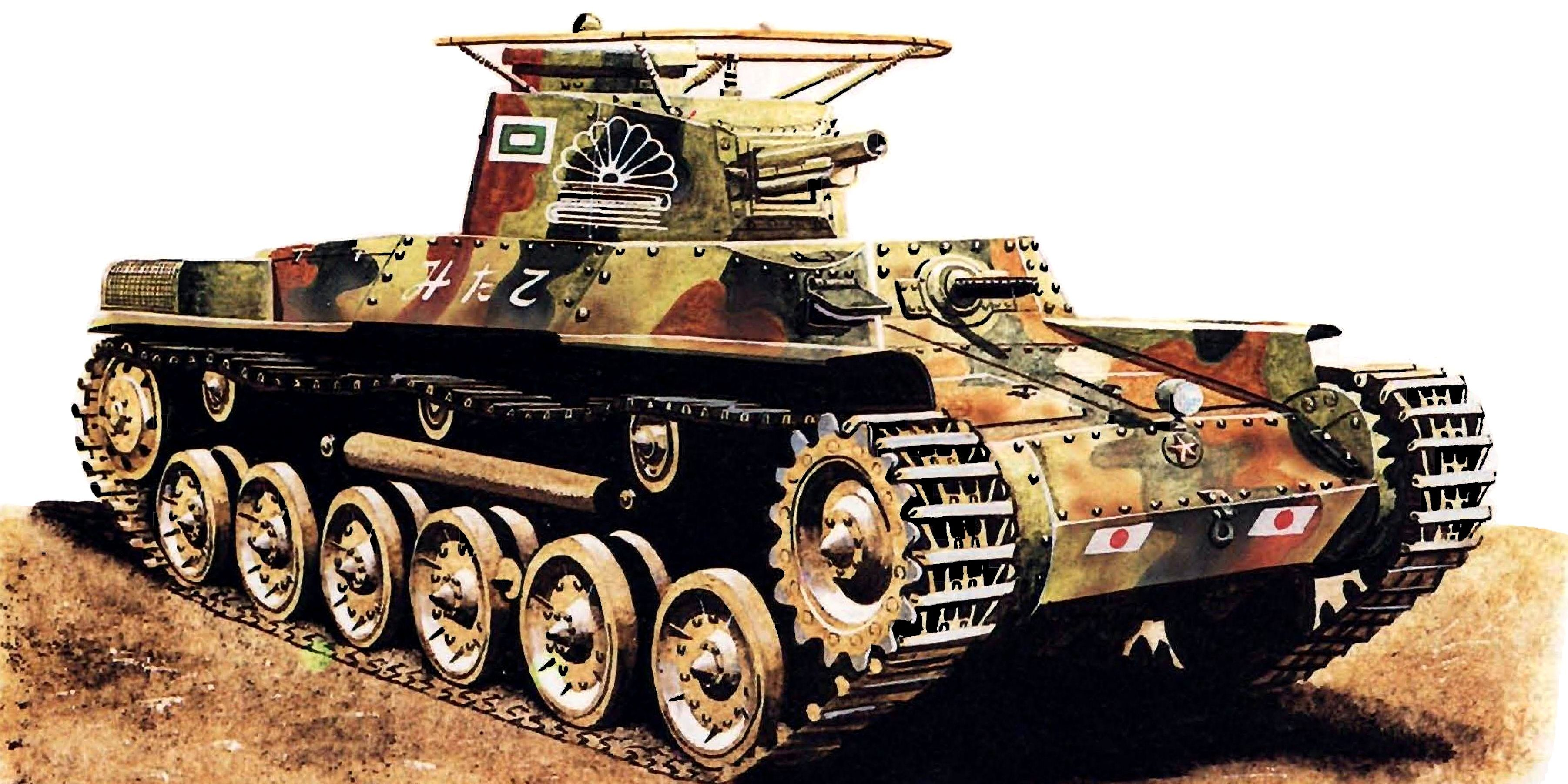 Zaloga Steven. Танк Type 97 Chi-Ha.