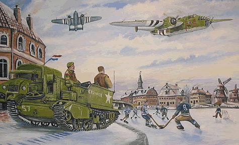 Seguna Paul. Бомбардировщик В-25.
