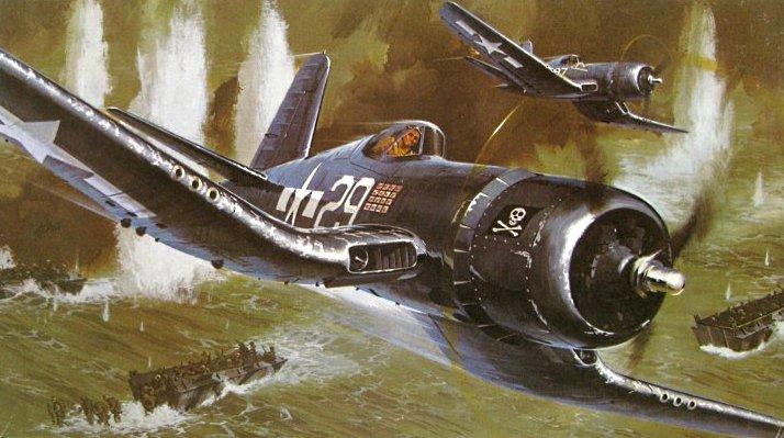 Leynnwood Jack. Палубные истребители Corsair.