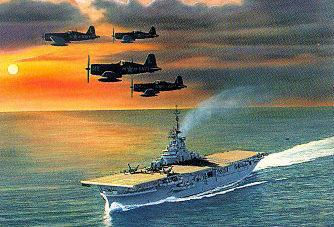 West Philip. Корабельная авиация.