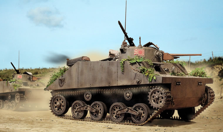 Zaloga Steven. Плавающий танк Type 2 Ka-Mi.