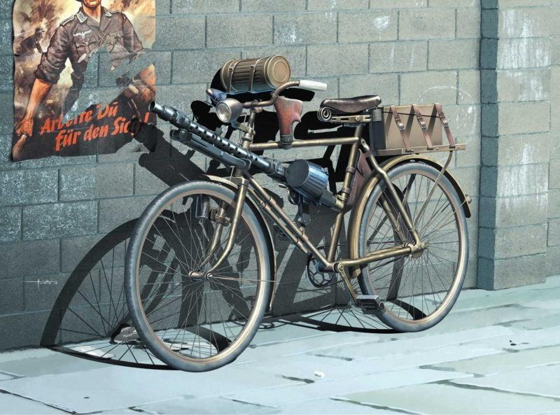 Auletta Vincenzo. Велосипед немецкого пехотинца.