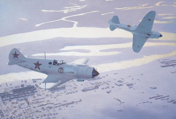 Bourgeois Ardell. Истребители Ла-5 у Сталинграда.