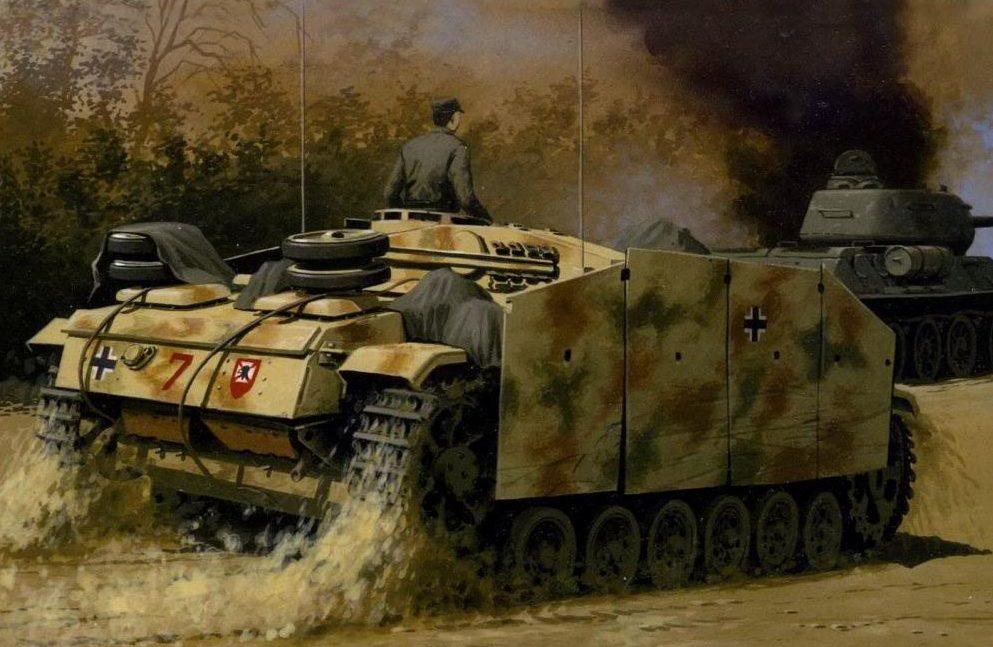 Volstad Ronald. САУ StuG.III Ausf F-8.