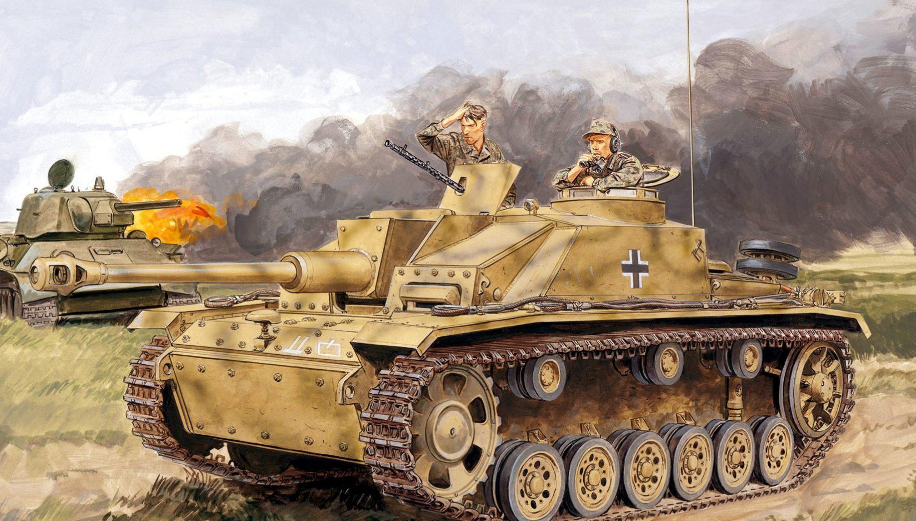 Volstad Ronald. САУ StuG III.Ausf.G.