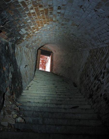 Подземелья форта.