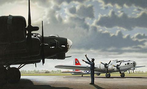 Bowley Colin. Бомбардировщик B-17G.
