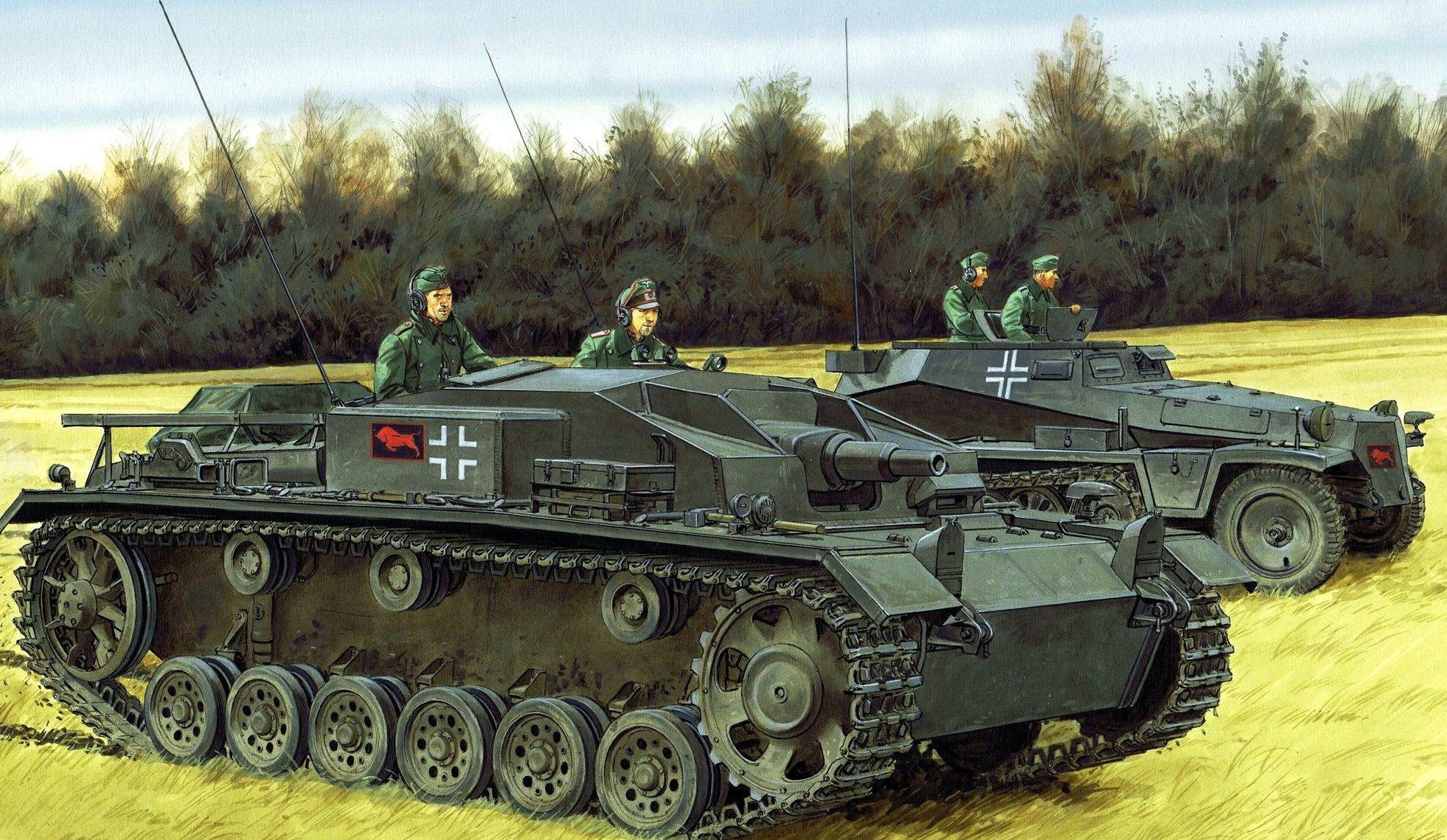 Volstad Ronald. САУ StuG.III Ausf.E.