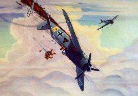 Hubbell Charles. Истребитель FW-190.
