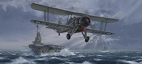 West Philip. Атака против линкора Бисмарк.