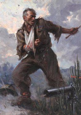 Tafuri Clemente. Итальянский солдат.