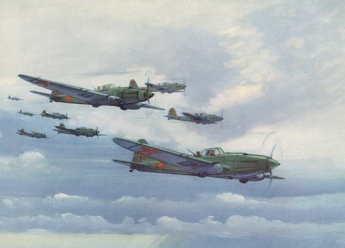 Hubbell Charles. Штурмовики Ил-2.
