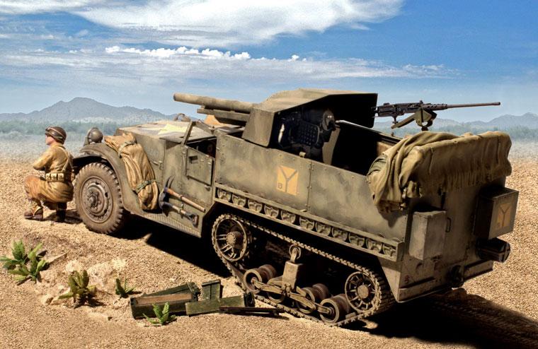 Zaloga Steven. САУ M-3 75mm GMC.