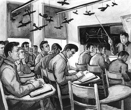 Freeman Don. Школа летчиков.