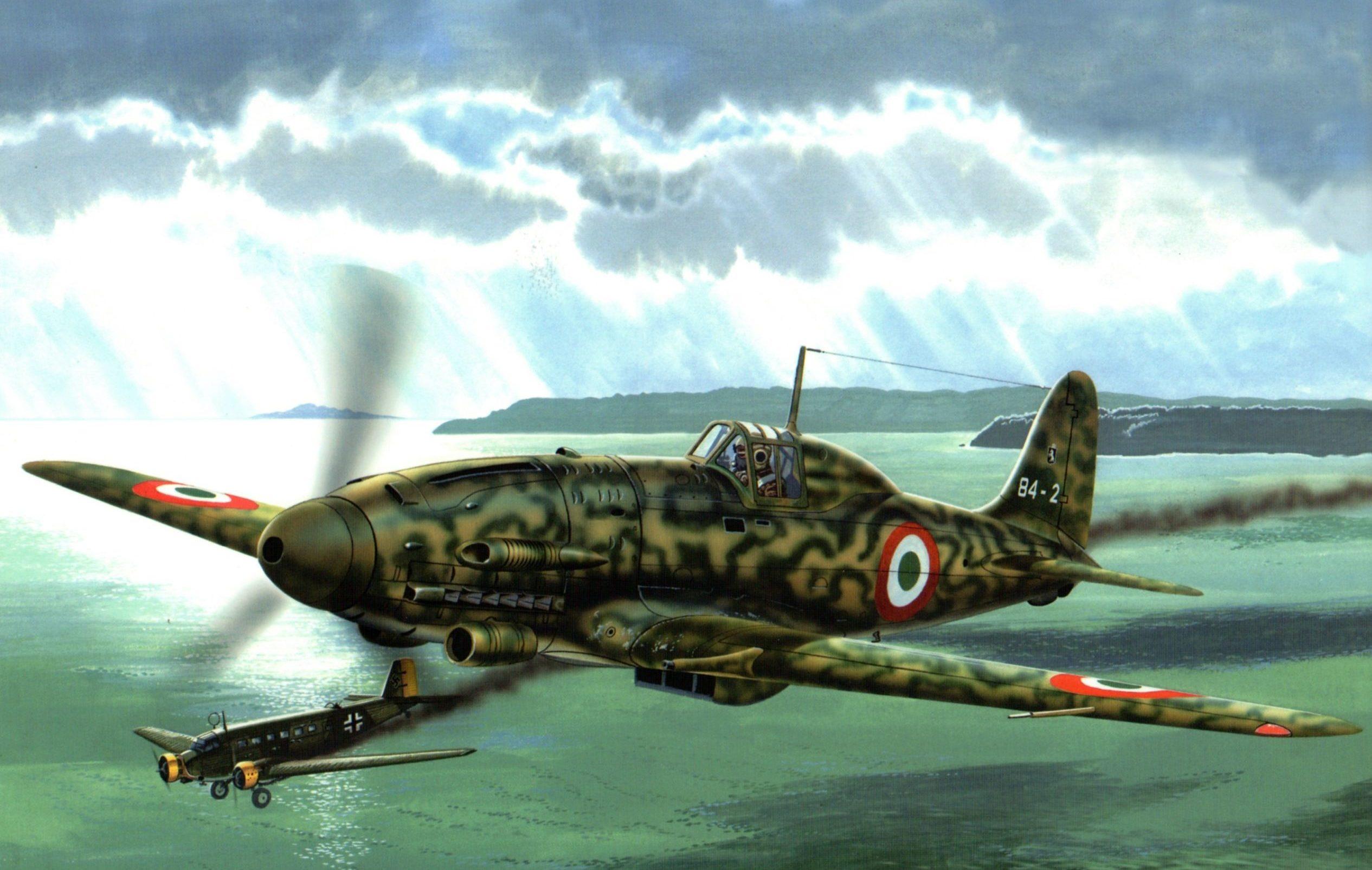 Greer Don. Истребитель Macchi C.205 Veltro.