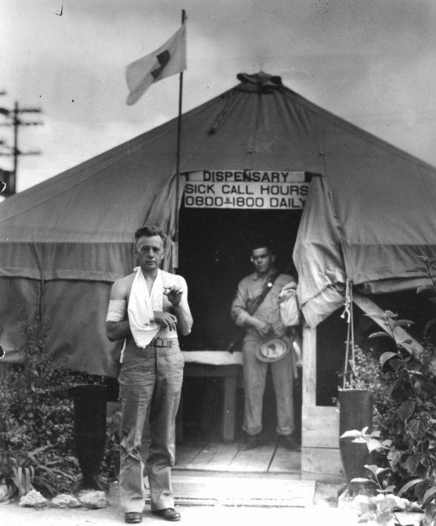 Медпункт. Перл Харбор. 8 декабря 1941 г.