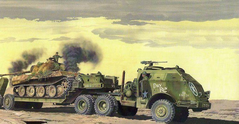 Greer Don. Эвакуатор M-26 Dragon Wagon.