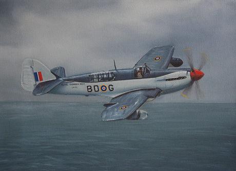 Silva Rui Laureano. Палубный истребитель Fairey Firefly.