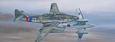 West Philip. Реактивный истребитель Me 262.