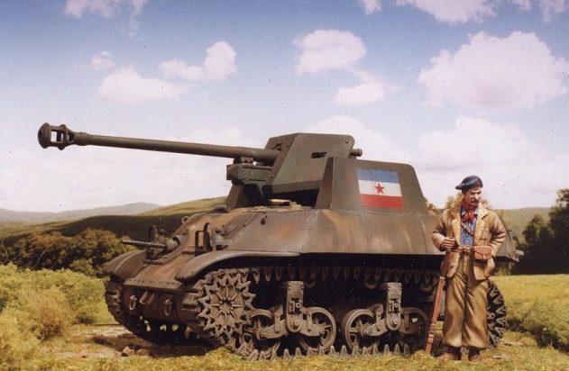 Zaloga Steven. САУ M3A3 with Pak 40.