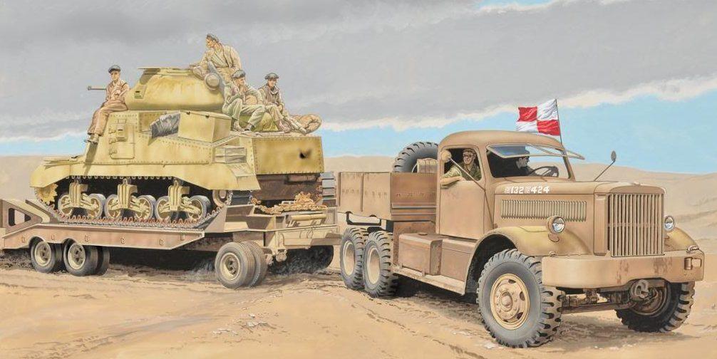 Greer Don. Эвакуация танка М-3.