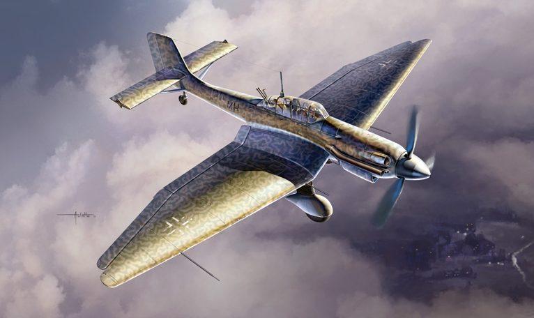 Auletta Vincenzo. Штурмовик Ju 87 D-5 (Stuka).