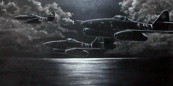 Silva Rui Laureano. Истребители Ме-262.