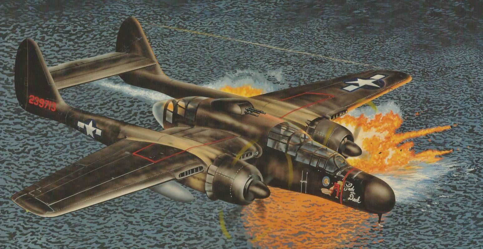 Greer Don. Истребитель P-61.