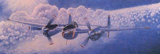 Moats Raymond. Истребитель Р-38.