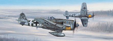 West Philip. Истребитель Focke-Wulf FW 190.