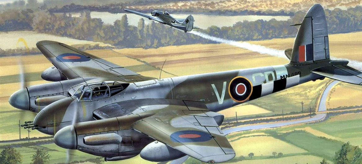 Greer Don. Истребитель Mosquito FB.Mk.VI.