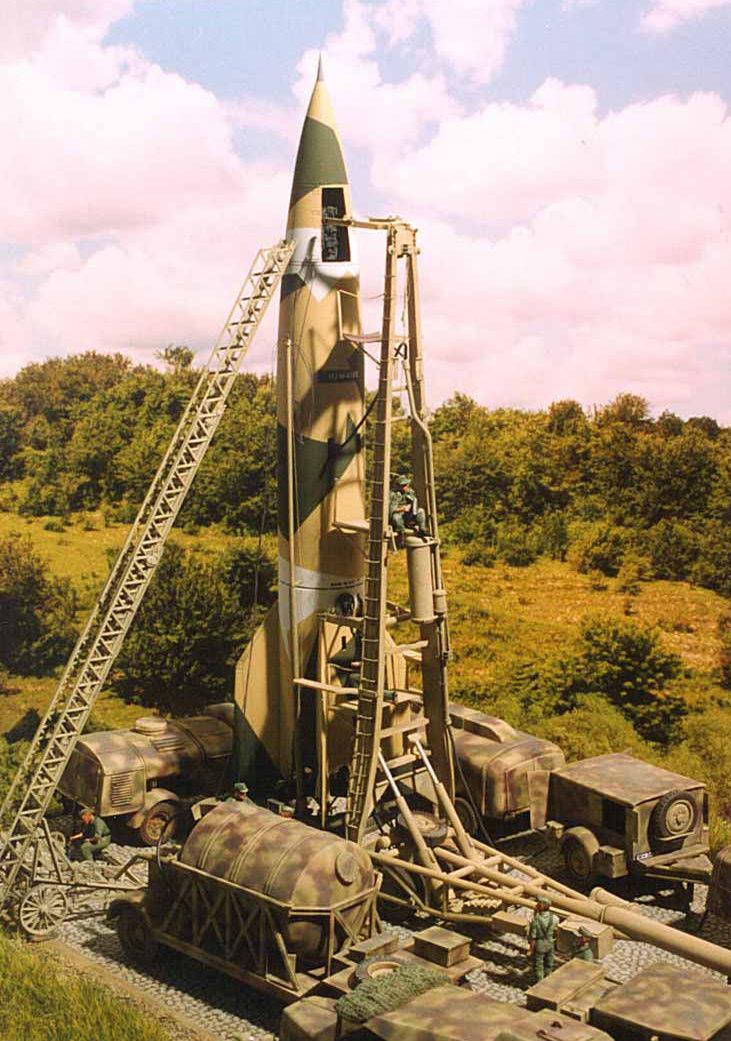 Zaloga Steven. Пусковая площадка ракет V-2.