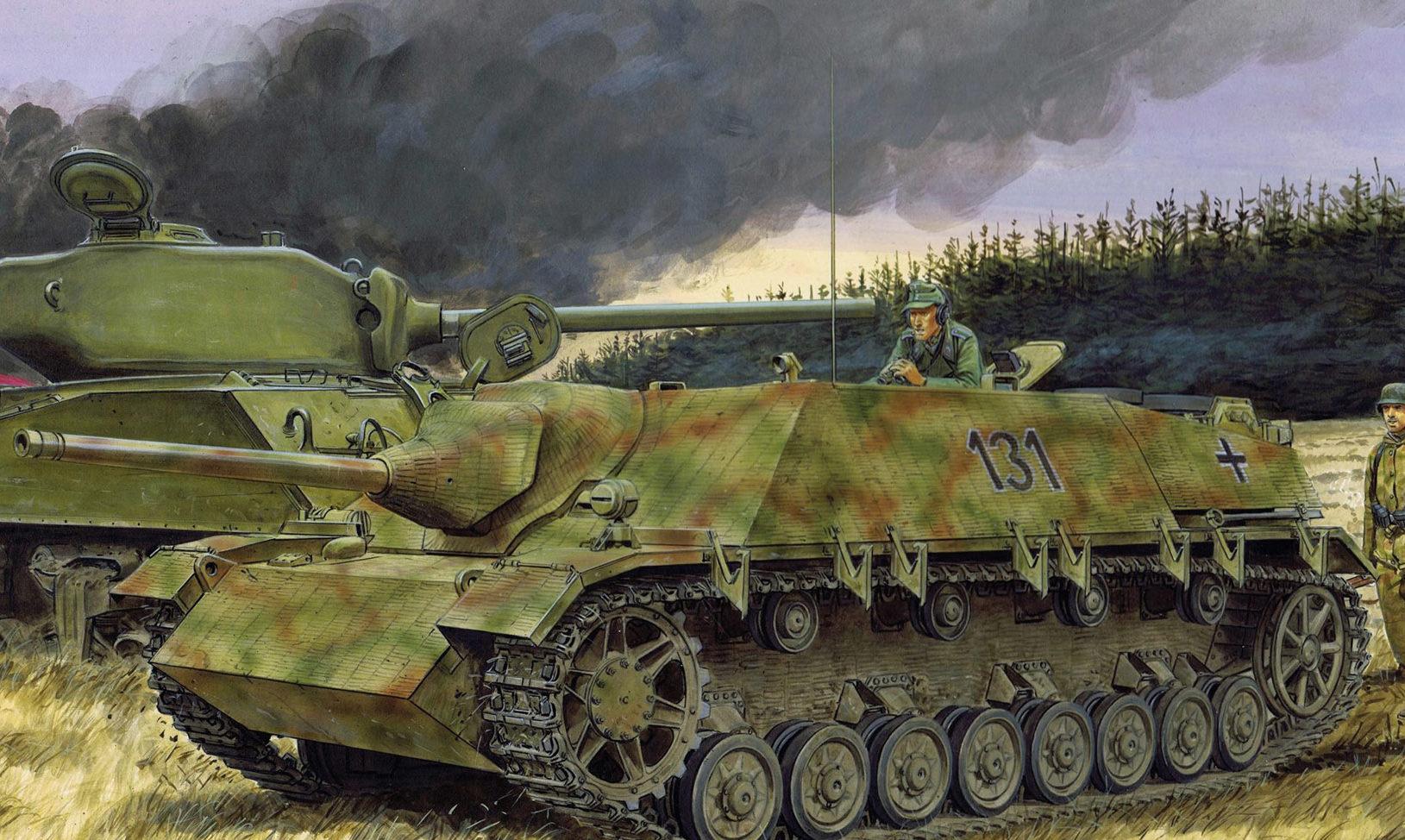 Volstad Ronald. САУ Jagdpanzer IV.