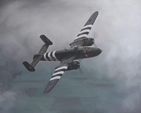 Silva Rui Laureano. Бомбардировщик PB-25J Mitchell.