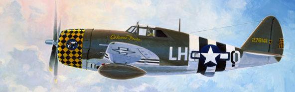 Moats Raymond. Истребитель Р-47.