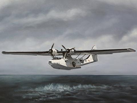 Silva Rui Laureano. Летающая лодка PBY 5-A.