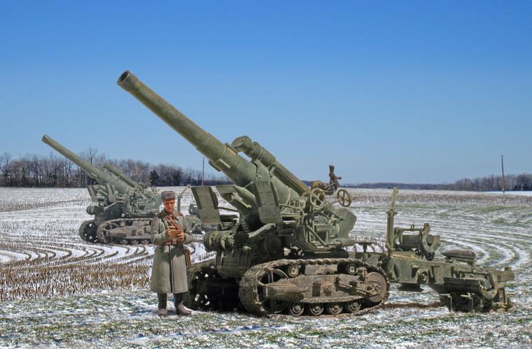 Zaloga Steven. 203-мм гаубица Б-4.