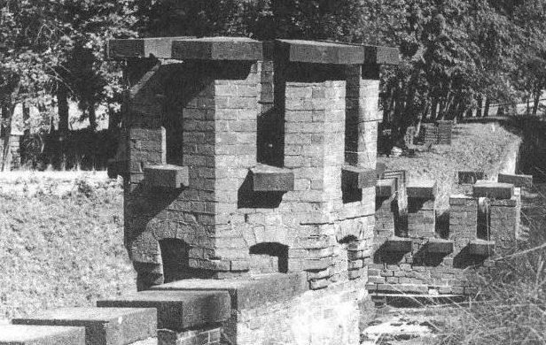 Форт в 1945 г.