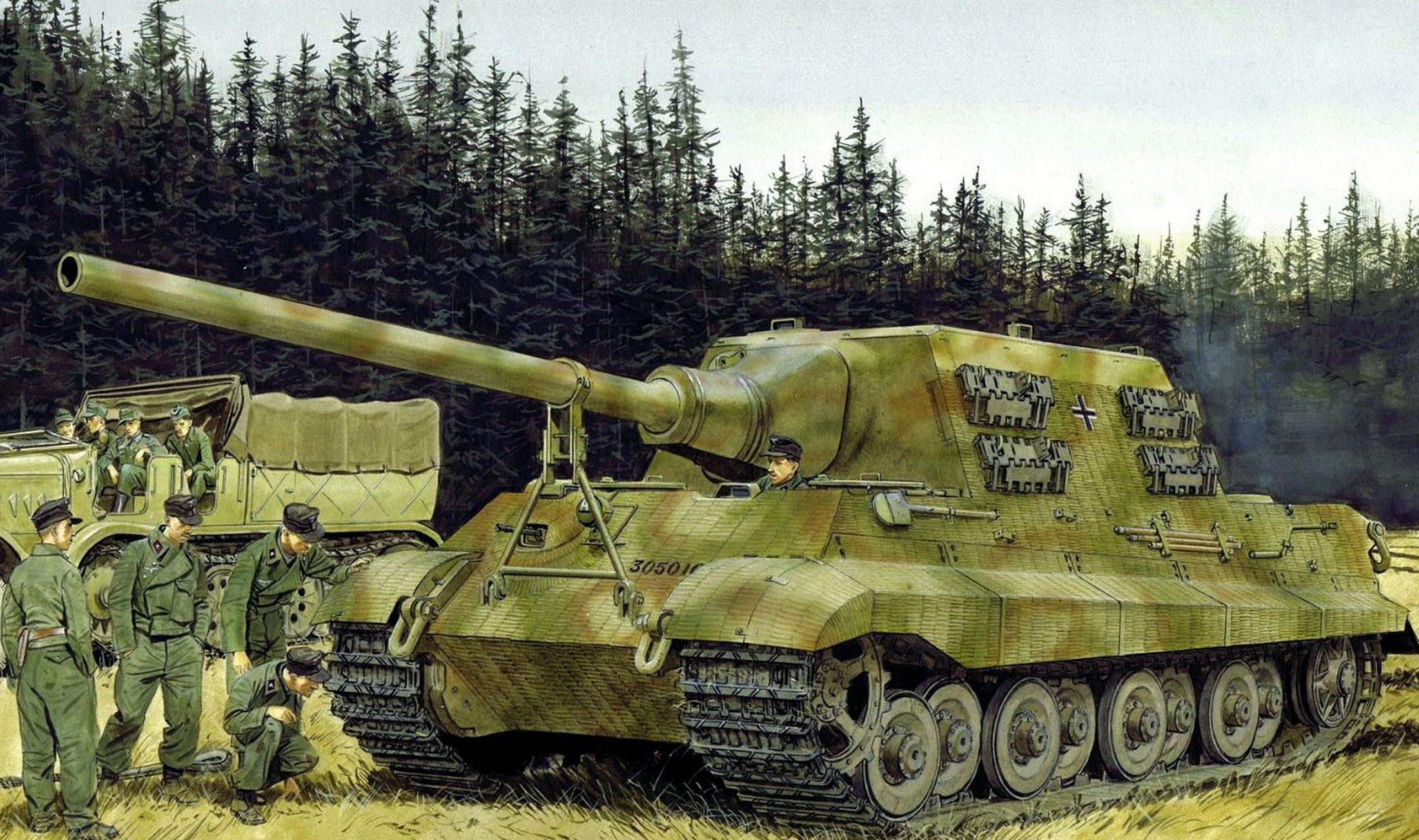 Volstad Ronald. САУ Sd. Kfz. 186 Jagdtiger.
