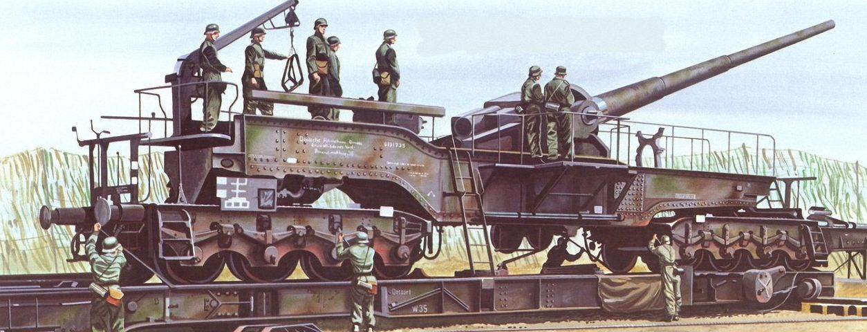 Greer Don. Железнодорожное орудие.