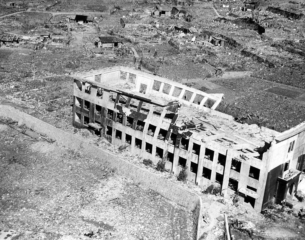 Руины Нагасаки. Август 1945 г.