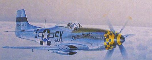 Moats Raymond. Истребитель Р-51 D.