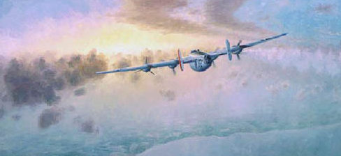 Moats Raymond. Бомбардировщик В-24.