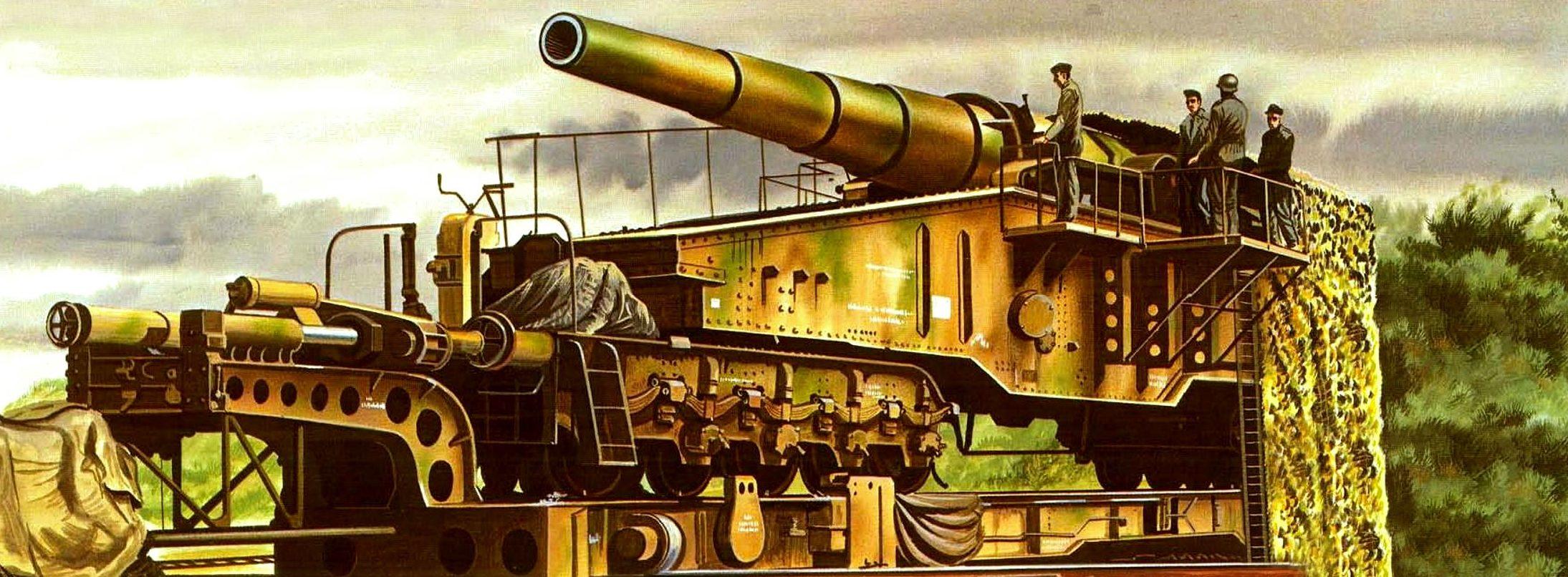 Greer Don. Железнодорожное 28-cm орудие «Kurze Bruno» L/40.