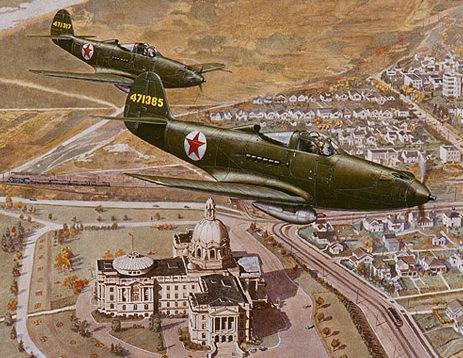 Bruce Jim. Истребители Р-39.