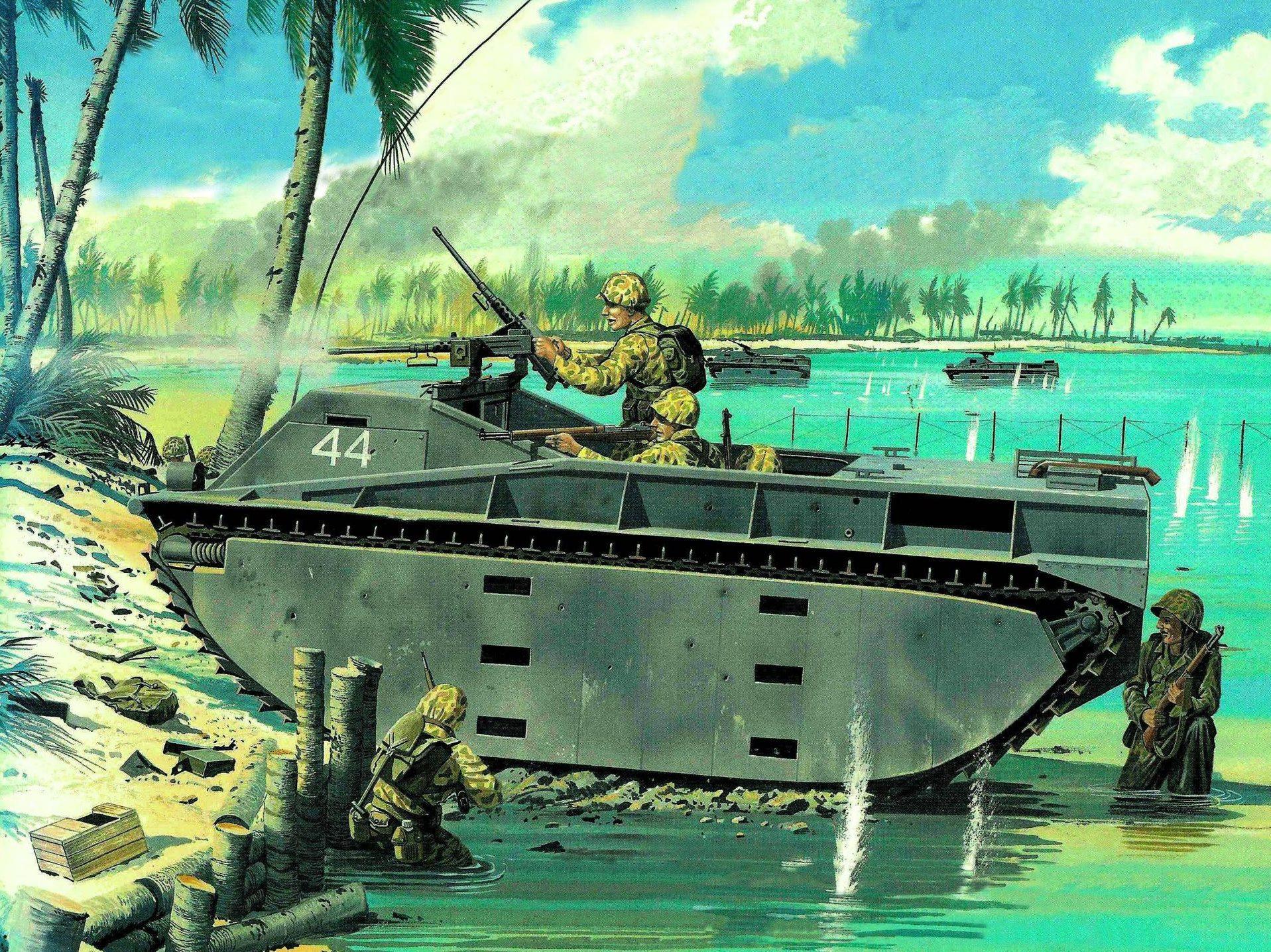 Greer Don. Морской десант.