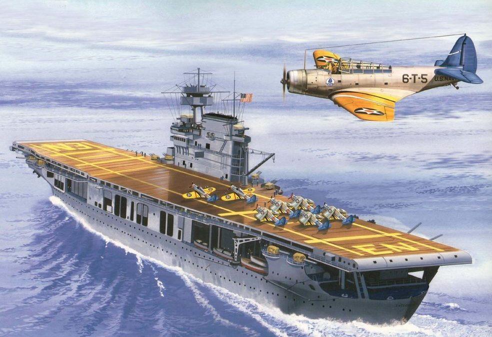 Greer Don. Авианосец «Enterprise».