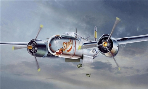Auletta Vincenzo. Штурмовик A-26 A/B Invader.